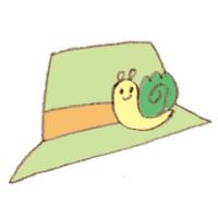 山マイマイと帽子